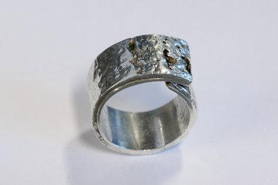 Zilveren ring (925)