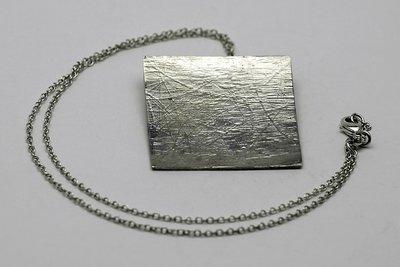 Ketting met hanger zilver 925